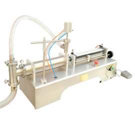 G1WYF1000 Pneumatic Liquid Filling Machine 3.38-33.82 OZ