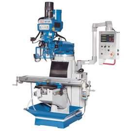 Knuth 1.245 x 230 mm Vertical Milling Machine 220V, 3ph, 60hz MF 1 VP