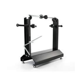 Black Motorcycle Wheel Balancer and Truing Stand