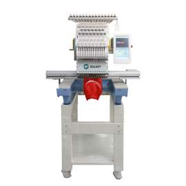 Single Head Computerized Embroidery Machine 15 Needles One Head Multifunction Flat T-shirts Cap Garments Shoes 15.7 x23.6 in.