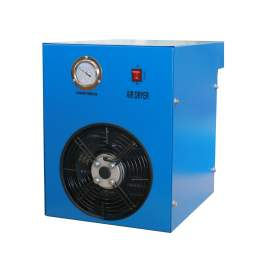 85CFM Refrigerated Compressed Air Dryer Stainless Steel Plate Evaporator 110VAC/60Hz 1-Phase