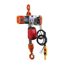 Electric Chain Hoist 4400 Lb. Cap. 9.8 ft Lift 220 V 60 Hz 3-Phase