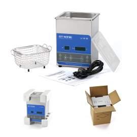 0.5GAL 2L 0.07CF Heating Digital Ultrasonic Ceaner 50W