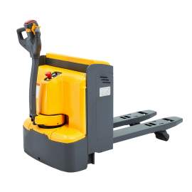 """48"""" x27"""" Electric Pallet Truck with Backrest of 4400lbs Capacity"""