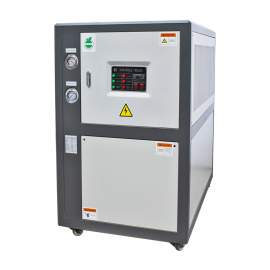 10 Ton Air-cooled Industrial Chiller 10 HP 230V 3 Phase