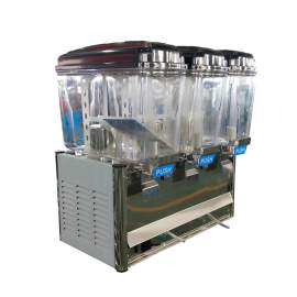 Juice Dispenser 11.88 Gallons Three Compartments