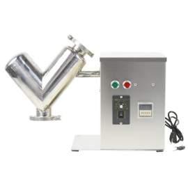 V Type Powder Mixer Blender Blending Machine 2L Barrel Capacity