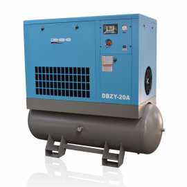 Hanbell 81CFM 460V Screw Air Compressor with Tank & Dryer 20HP