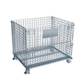 """Collapsible Wire Container 40""""L x 32""""W x 34""""H  Enhanced Type 5500 Lbs"""