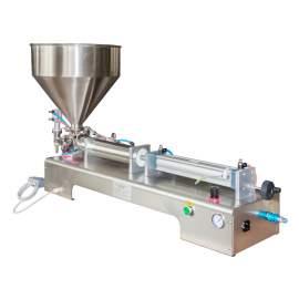1.7-17OZ Semi-Auto Paste/Liquid Filling Machine a