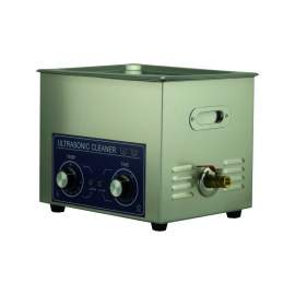 2.6Gal Ultrasonic Cleaner 240W 40Khz Stainless Steel Bath 10L
