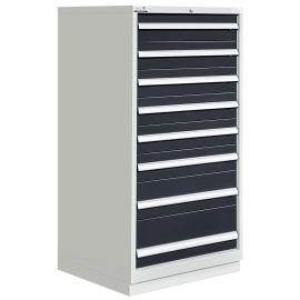"""Modular Drawer Cabinet 8 Drawers 28-1/4""""W × 28-1/2""""D × 60""""H"""