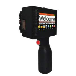 Handheld Inkjet Printer With One Inch Character for Paper Box Board