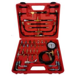 Mul Tiple-function Oil Combustion Pressure Test Kit Gauge 0-140 Psi