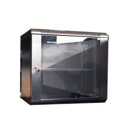 19 Inch 17.7 Depth 12U Wall Mount Network Data Cabinet Enclosure Temperated Glass Door