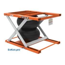 EnKon Modular 1000lb Capacity A-Series Air Scissor Lift Tables (Lift Only)