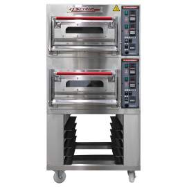 CPBM Double Deck Oven 4 Pan 220v/3ph 7 kW Made In Taiwan