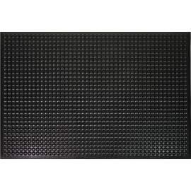 "PU Anti-fatigue Mat Bubble Thick 9/16"" 2 ft x 3 ft Black"