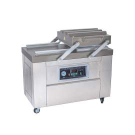 """Two-Chamber Vacuum Packaging Machine DZ500/2C with 19-3/4"""" Seal Bar"""