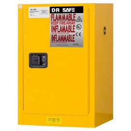 "Flammable Cabinet 16 Gallon 44"" x 23"" x 18""  Self-Closing Door"