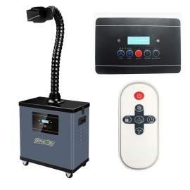 Solder Laser Fume Extractor With Digital Display With Filter Clogging Alarm