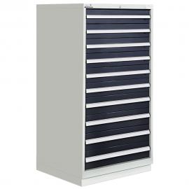 """Modular Drawer Cabinet 10 Drawers 28-1/4""""W × 28-1/2""""D × 60""""H"""