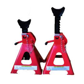 3-Ton Jack Stand Heavy Duty Steel With Double Lock Pawl And Bolt