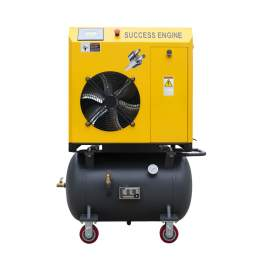 7-1/2HP Rotary Screw air Compressor 28CFM 116PSI 230V 3-P 60Hz w/42Gal