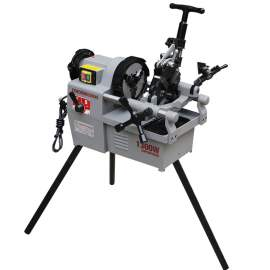 """New Pipe Threading Machine 1/2"""" - 2"""" Two Speed Shifing Threader 1.7HP"""
