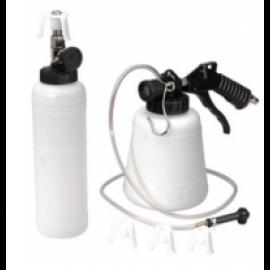 1L Vacuum Brake Oil Change Set Pneumatic Brake Fluid Bleeder Tool Kit