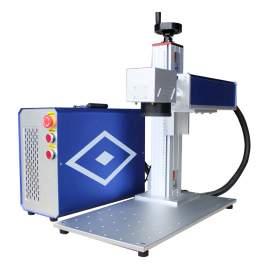 30W RAYCUS split fiber laser marking machine-1