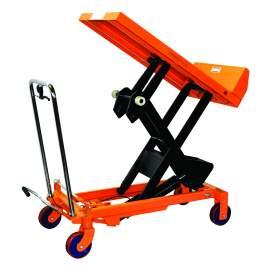 Bolton Tools Hydraulic Scissor Lift and Tilt Table Cart | 1100 lb | TF50FL