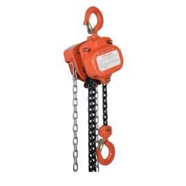 VITALI-INTL Manual Chain Hoist 2000 Lb Load Capacity 10Ft Hoist Lift
