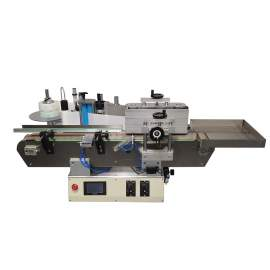 Automatic Round Bottle Separate Labeller With Collector