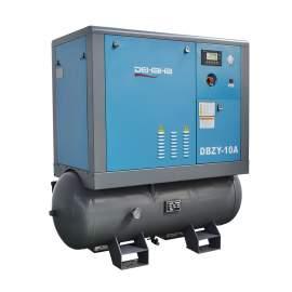 81CFM 460V Screw Air Compressor with Tank & Dryer 125PSI 20HP