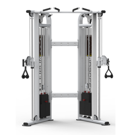Commercial Functional Training Machine Cable Crossover With Dual 220lb