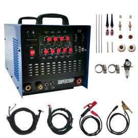 AC/DC Pulse TIG/MMA/CUT MOSFET  Aluminum Welding Machine 5 in 1