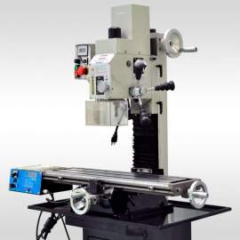 """Bolton Tools 27 1/2"""" x 7"""" VARIABLE SPEED MILL DRILL WITH POWER FEED BF20VLP"""