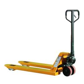 """Manual Pallet Jack Truck with 6600 lbs Capacity  27""""W x 45""""L Fork"""