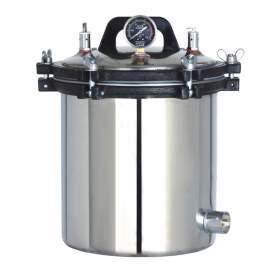 0.635CF Portable Pressure Steam Sterilizer Electric or LPG Heated
