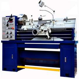 """Bolton Tools 14in x 40in Gear Head Toolroom Metal Lathe With 2"""" Bore Three-Phase BT1440G-3"""
