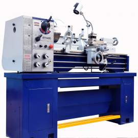 """14"""" x 40"""" Gear Head Toolroom Metal Lathe with 2"""" Bore Single-Phase 