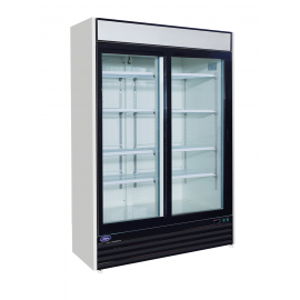 Valpro  48 cu. ft. Glass Door Merchandiser Refrigerator (Two Swing Doors)