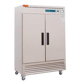 Reach In Double Solid Door Refrigerator-43 Cubic Feet