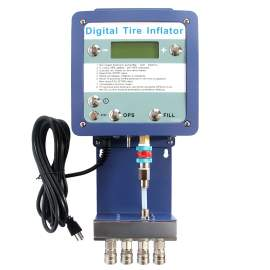 High Pressure Digital Tyre Inflator for 4 Tyres Inflation 175PSI
