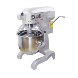 20QT.Commercial Planetary Floor Mixer With Guard,Standard Accessories