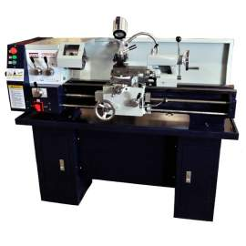 12in x 30in Gear-Head Metal Lathe With Stand & Coolant System Stand Included! CQ9332A