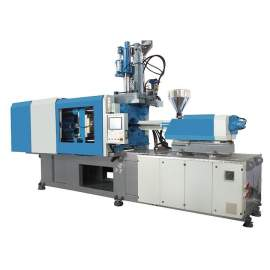 Konger CS270 Servo Motor Hybrid Dual Color Injection Molding Machine With Dryer Hopper and Auto Loader