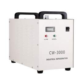 CW-3000 Industrial Water Chiller for CO2 Laser Engraver Operation