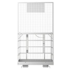48'' x 45'' 2 Person Forklift Safety Lift Platform Cage